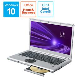 ノートパソコン レッツノート LVシリーズ ブラック&シルバー CF-LV9HDMQR [14.0型 /intel Core i5 /SSD:256GB /メモリ:16GB /2020年6月モデル]