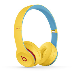 Beats by Dr. Dre ブルートゥースヘッドホン Beats Solo3 Wireless - Beats Club Collection MV8U2PA/A クラブイエロー [リモコン・マイク対応 /Bluetooth