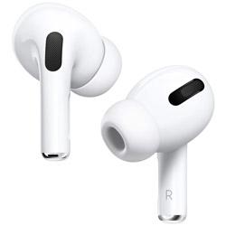 Apple(アップル) AirPods Pro MWP22J/A【耐汗耐水】【本体4.5時間再生】【片耳5.4g】 【ノイズキャンセリング対応】ワイヤレスイヤホン カナル型 エアーポッズプロ airpodspro