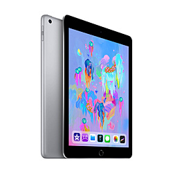 iPad 9.7インチ Wi-Fi +Cellular 128GB  スペースグレイ  [SIMフリーモデル]