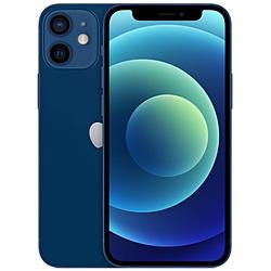 【SIMフリー】iPhone 12 mini A14 Bionic 5.4型 ストレージ:256GB デュアルSIM(nano-SIMとeSIM) MGDV3J/A ブルー