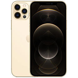 【SIMフリー】iPhone 12 Pro A14 Bionic 6.1型 ストレージ:512GB デュアルSIM(nano-SIMとeSIM) MGMH3J/A ゴールド
