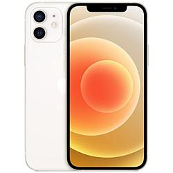 【SIMフリー】iPhone 12 A14 Bionic 6.1型 ストレージ:128GB デュアルSIM(nano-SIMとeSIM) MGHV3J/A ホワイト