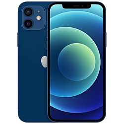 【SIMフリー】iPhone 12 A14 Bionic 6.1型 ストレージ:128GB デュアルSIM(nano-SIMとeSIM) MGHX3J/A ブルー