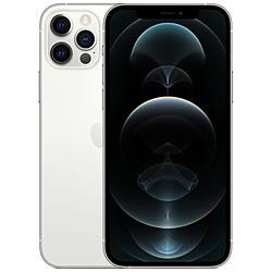 【ドコモ】iPhone 12 Pro A14 Bionic 6.1型 ストレージ:128GB デュアルSIM(nano-SIMとeSIM) MGM63J/A シルバー