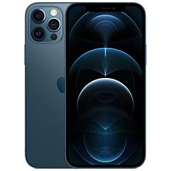 【ドコモ】iPhone 12 Pro A14 Bionic 6.1型 ストレージ:128GB デュアルSIM(nano-SIMとeSIM) MGM83J/A パシフィックブルー
