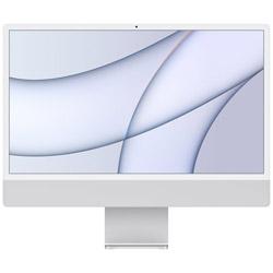 iMac Retina4.5K 24inch Apple M1 8コアCPU 8コアGPU 8GB 512GB MGPD3J/A シルバー iMac21.1