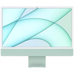 iMac Retina4.5K 24inch Apple M1 8コアCPU 8コアGPU 8GB 256GB MGPH3J/A グリーン iMac21.1