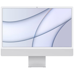 iMac Retina4.5K 24inch Apple M1 8コアCPU 7コアGPU 8GB 256GB MGTF3J/A シルバー iMac21.2