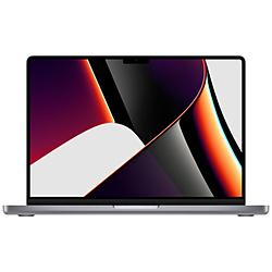 Apple(アップル) 14インチMacBook Pro 8コアCPUと14コアGPUを搭載したApple M1 Proチップ 512GB SSD - スペースグレイ   MKGP3J/A [14.2型 /Apple M1 /メモリ:16GB /SSD:512GB /2021年10月モデル]