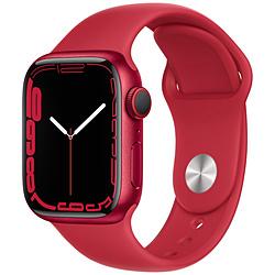 Apple(アップル) Apple Watch Series 7(GPS+Cellularモデル)- 41mm(PRODUCT)REDアルミニウムケースと(PRODUCT)REDスポーツバンド - レギュラー   MKHV3J/A ※発売日以降お届け