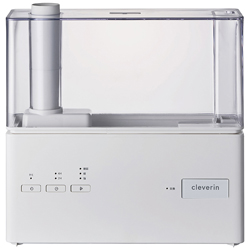 ドウシシャ クレベリンLED搭載 超音波加湿器  ホワイト KMWV-301C-WH [超音波式 /OFFタイマー]