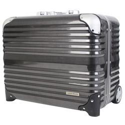 スーツケース 横型ビジネスキャリー 31L BLADE(ブレイド) カーボン 6200-44-CB [TSAロック搭載]
