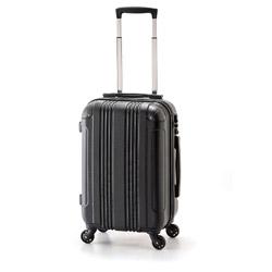 スーツケース ハードキャリー 90L マットブラック ADY-8427-28 [TSAロック搭載]