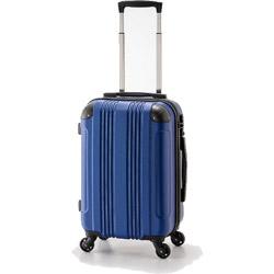 スーツケース ハードキャリー 90L マットロイヤルブルー ADY-8427-28 [TSAロック搭載]