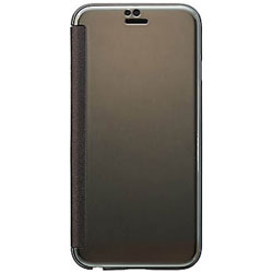 iPhone 6s/6用 mirror flip ブラック SoftBank SELECTION SB-IA12-FPPN/BK