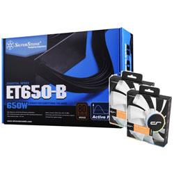 SST-ET650-B + QF120 PERFORMANCE お買い得セット