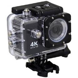 AC600 ブラック 4Kアクションカメラ