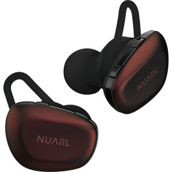 NUARL フルワイヤレスイヤホン  ボルドー N6 PRO2-BR [マイク対応 /ワイヤレス(左右分離) /Bluetooth]