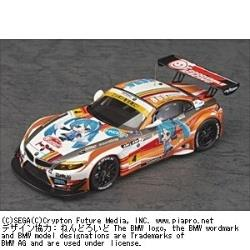 塗装済み完成品ミニカー 1/43 初音ミク and Future Stars Project mirai GSR ProjectMirai BMW 2012開幕ver.