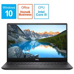 ノートPC Inspiron 15 7000 7590 NI765-9NHBC ブラック [Core i5・15.6インチ・SSD 256GB・メモリ 8GB]