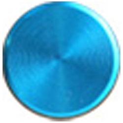 Apple用 アルミホームボタン プレインシリーズ (スカイブルー) IPA04-12D055