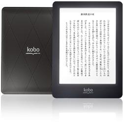 電子書籍リーダー kobo glo(フロントライト内蔵・Wi-Fiかんたん設定対応モデル・ブラックナイト) N613-KJP-B