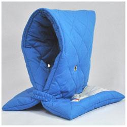 小学生用プレミアム防災頭巾 ブルー