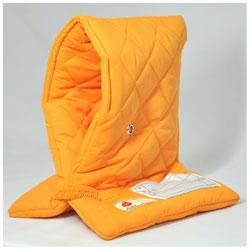 小学生用プレミアム防災頭巾 オレンジ