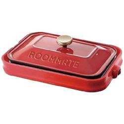 ホットプレート 「ROOMMATE」(プレート3枚) EB-RM8600H-RD レッド