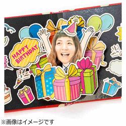 アルバムポップアップ フェイスイン Birthday Box KPUF-01
