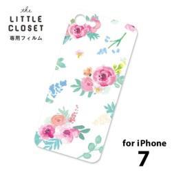 LITTLE CLOSET用[iPhone 7用] 着せ替えフィルム ノーマル Feminine GLF-18