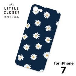 LITTLE CLOSET用[iPhone 7用] 着せ替えフィルム ノーマル Daisy GLF-19