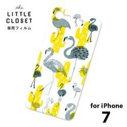 LITTLE CLOSET用[iPhone 7用] 着せ替えフィルム ノーマル Design mingo GLF-22