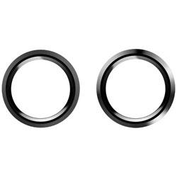 iPhone 7用 icamera 背面カメラレンズプロテクター マッドブラック/ブラック MS-ICPT7-KK