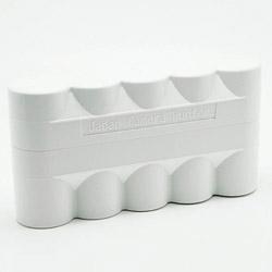 ブローニー120専用フィルムケース 5本用JFC1205 (ホワイト) JFC1205 Whi