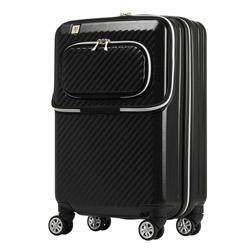 スーツケース 34L ブラック 6024-48-BK [TSAロック搭載]