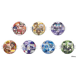 ソルインターナショナル 『ディズニー ツイステッドワンダーランド』 わちゃっと!トレーディング缶バッジBIG 【BOX】
