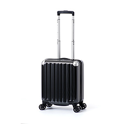 スーツケース ハードキャリー 22L カーボンブラック ALI-6008-14 [TSAロック搭載]