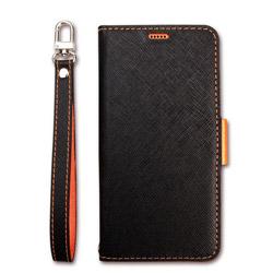 Corallo NU for Xperia XZ3 Black+Orange CR_XX3CSPLNU_BO
