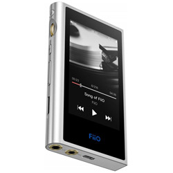 ハイレゾポータブルプレーヤー M9 FIO-M9-S シルバー [2GB /ハイレゾ対応]