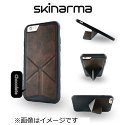 iPhone 6s用 Skinarma マグネットスタンドケース MSC-NCHC ChocolateBrown