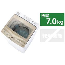 全自動洗濯機 フロストゴールド AQW-GS70JBK-FG [洗濯7.0kg]