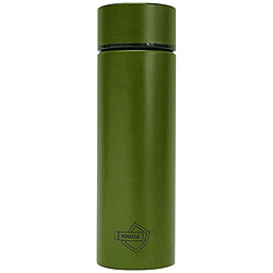 ステンレスボトル 「POKETLE ポケトル ボトル」(0.12L) カーキ 572448