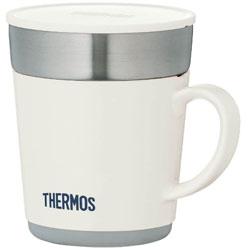 保温マグカップ (240ml) JDC-241-WH ホワイト