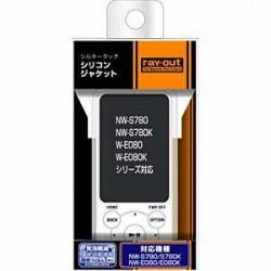 WALKMAN NW-S780/E080用シルキータッチ・シリコン/ホワイト(半透明) RTSS78C1W
