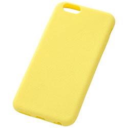 iPhone 6用 スリップガード・シリコンジャケット イエロー RT-P7C2/Y