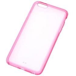 iPhone 6 Plus用 カラフル・ソフトシェルジャケット クリアレッド RT-P8CC2/TR