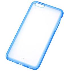 iPhone 6 Plus用 カラフル・ソフトシェルジャケット クリアブルー RT-P8CC2/TA