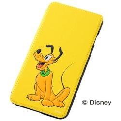 iPhone 6 Plus用 ポップアップ・ブックカバータイプ・合皮レザージャケット ディズニー・プルート RT-DP8J/PL